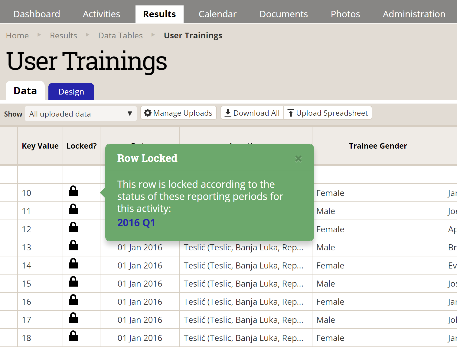 New Feature: Data Table Approval & Locking